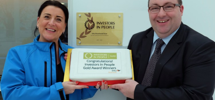 Intu Braehead wins Investors in People gold award