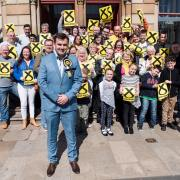 Gavin Newlands launches re-election campaign
