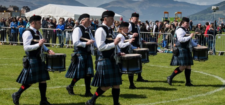 Fine start to the season for the Johnstone Pipe Bands