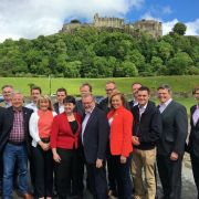 East Renfrewshire MP Paul Masterton meets up with other newly elected Scottish Conservative MPs