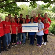 'Remembered with a Smile' fundraising for St Vincent's Hospice