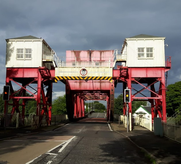 Alternative routes: Temporary closure of Bascule Bridge, Inchinnan Road, Renfrew