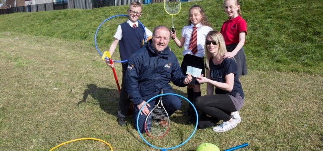 Bishopton Primary School awarded £1,000 from Stewart Milne Homes