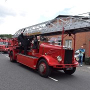 Johnstone hots up as Fire Engine Rally returns to the town