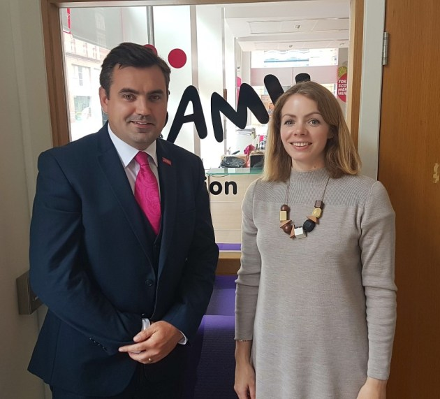 Renfrewshire MP meets with anti-bullying charity
