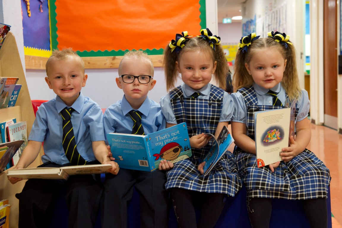A twin-tastic start to new school term in Renfrewshire