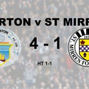 Derby disappointment as Saints lose 4 – 1 to Morton