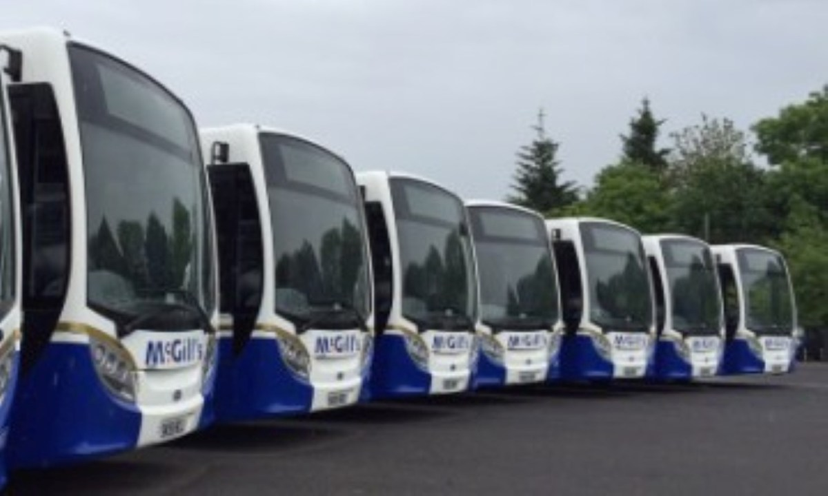 McGills Buses announce timetable for upcoming holiday Monday