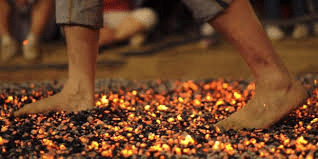 Take part in a Firewalk for St Vincent's Hospice 30th Anniversary