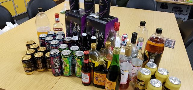'Don't buy alcohol on behalf of a child', Erskine Police clamp down on anti-social behaviour