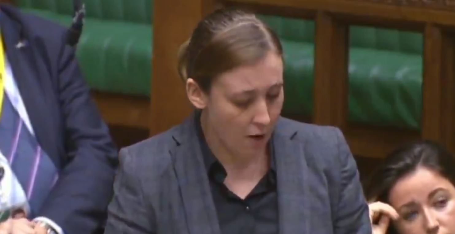 Video: MP Mhairi Black explains Universal Credit in Westminster speech today
