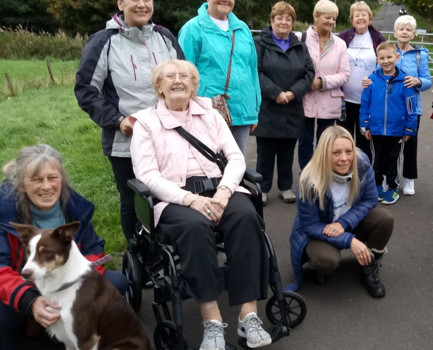 Huntington's disease Support Group raise money though their annual sponsored Walk