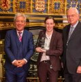 Mhairi Black receives SNP People's Choice MP of the Year award
