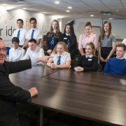 Pupils in Apprentice-style challenge told – You're Hired!