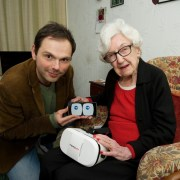 Virtual Reality pilot project allows elderly and isolated members of the community to access outside world from home