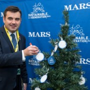 MP joins Mars UK to celebrate the season of sustainability