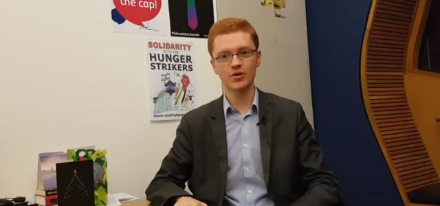 Video: Green MSP Ross Greer gives his opinion on the Scottish Governments draft budget 2018/19