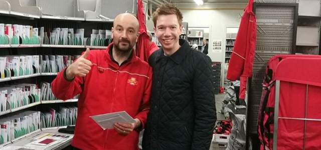East Renfrewshire MP thanks local postmen and women as they deliver a first class Christmas