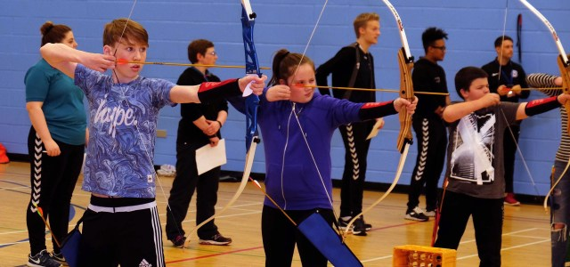 Niamh has core skills for archery contest