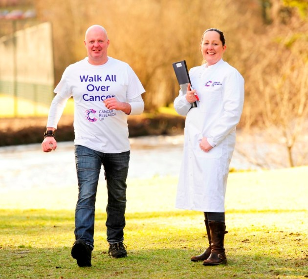 Glasgow scientist and her partner steps up to beat cancer