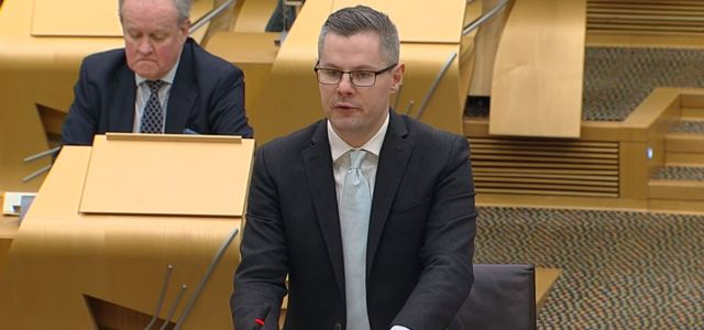 MSP Derek Mackay deals with his 10,000th constituency case
