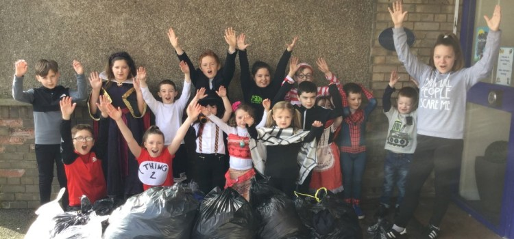 Kids cash in on clothes at Heriot Primary School and Nursery