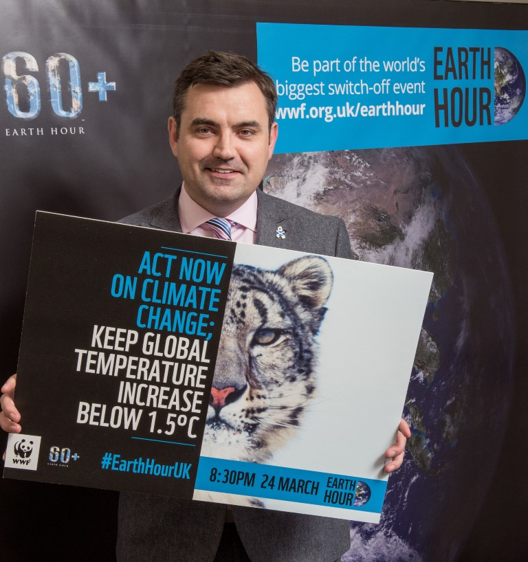Tell us: what actions will you be taking for Earth Hour?