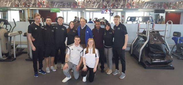 UWS sports students score with barcelona visit