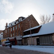 Paisley becomes a ghost town as shoppers and workers stay away from the Town Centre during weather warning