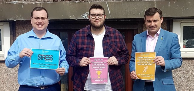 MP marks Mental Health Awareness Week with a visit to Renfrew YMCA