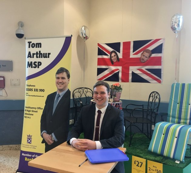 MSP holds first supermarket surgery at Morrisons, Johnstone