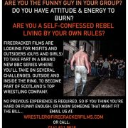Train to become a professional wrestler for new TV show