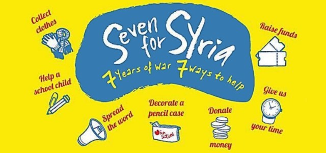 Charity Appeal: Seven for Syria – 7 years of war, 7 ways to help