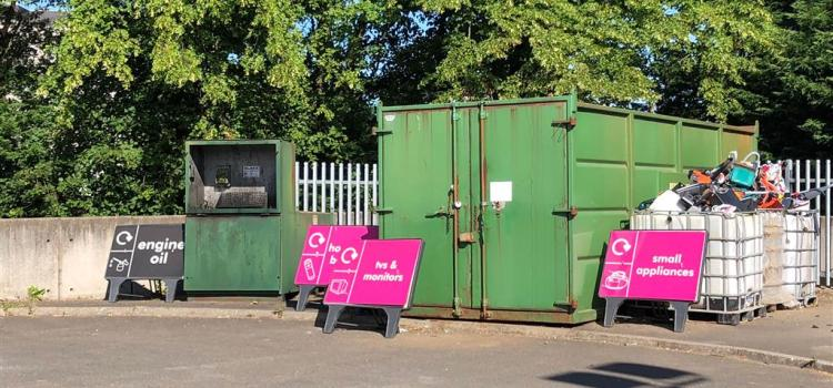 Permit system to be introduced for vehicles larger than a car at all Council Household Waste Recycling Centres