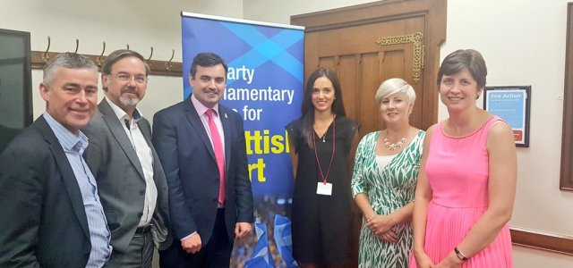 Parliamentary Scottish Sport Group discusses support for athletes transitioning careers