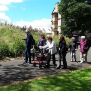 New Renfrewshire walking group for sheltered housing tenants doubles its numbers in one month