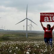 Church of Scotland Moderator to join Christian Aid supporters taking part in windfarm walk