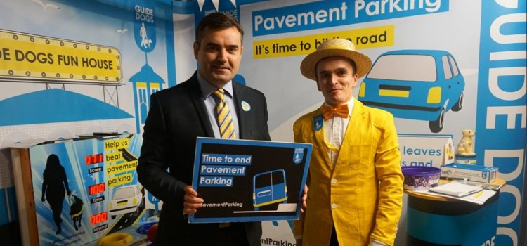 MP pledges to back a law to end unsafe pavement parking