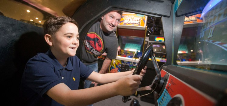 Game on for some vintage arcade fun at Retro Gaming event at Soar