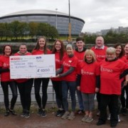 Team SPAR Glide over the Clyde for Charity