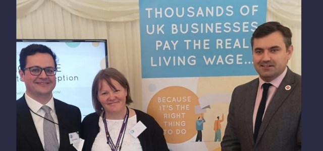MP meets with accredited local Living Wage employers