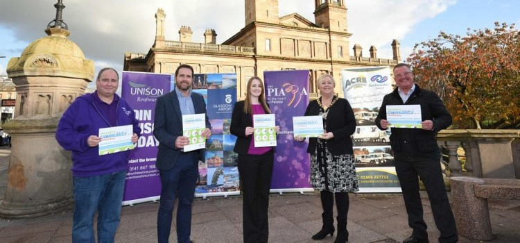 Sponsors show their support for Provost's Community Awards in Renfrewshire