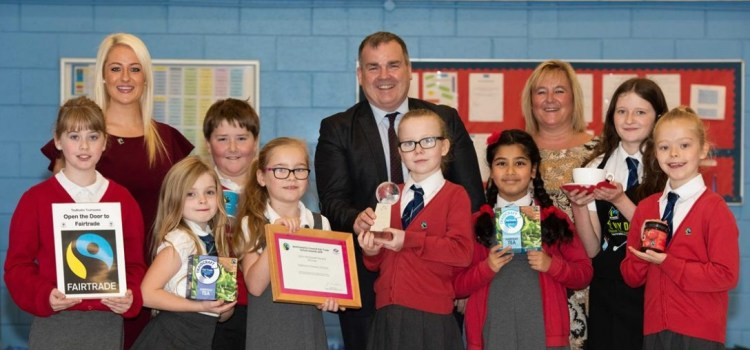 Gryffe and Todholm Schools are top of the class for fair trade