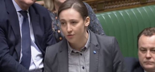 Mhairi Black shows her support in the fight to end Child Abuse
