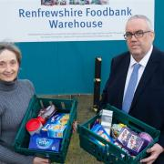 Renfrewshire Food Bank launches donations appeal after introduction of Universal Credit