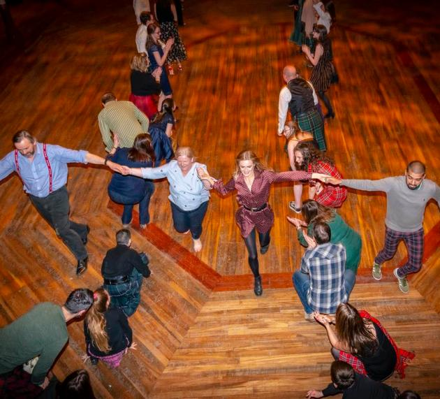 Photos: Festive Family Ceilidh was final event as Paisley Town Hall closes for refurbishment