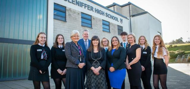 Paisley pupils open up about mental health with Scottish Government Minister
