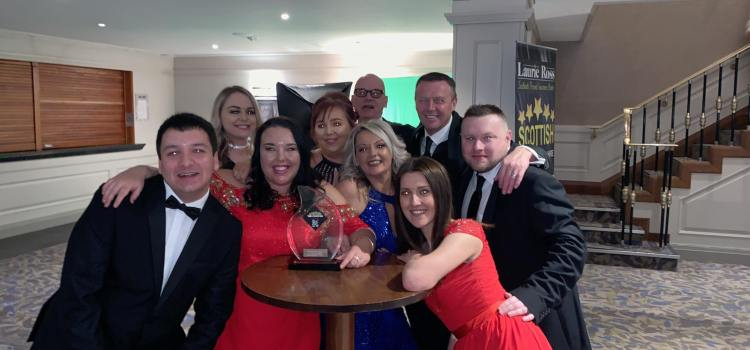 Renfrewshire Cab Co wins best Scottish Cab Company in the first Scottish Taxi awards