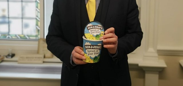 Local MP supports Ben & Jerry's asylum seeker work campaign