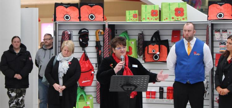 Cancer battle chaplain is an inspiration to shopping mall staff